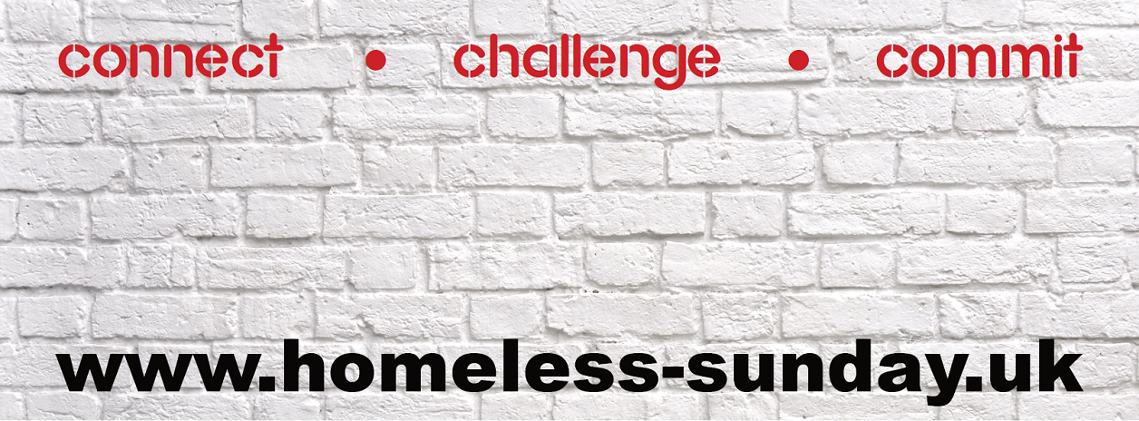 Homeless Sunday 2017 slogan